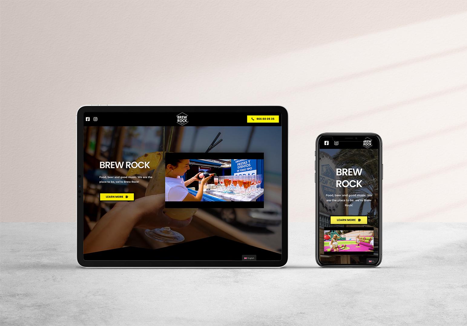 Digital Marketing Services: BrewRock